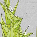 Geometric Floral Climb 2 by morganxlefay