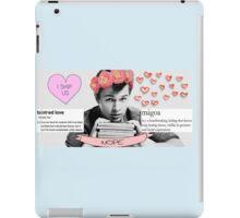 My perfect boy: Ansel Elgort iPad Case/Skin