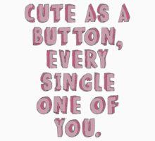 Cute as a Button-1D by kennedyolson20