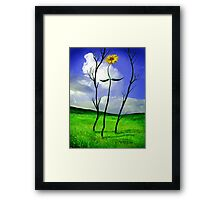Rebecca - The Sunflower Framed Print