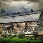 Golden Barn by chromaticvista