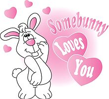 Somebunny Loves You by DonnaSiggy