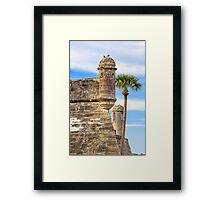 Towers of the Castillo Framed Print
