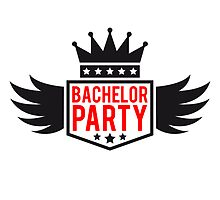 Bachelor wing Crown banner by Style-O-Mat