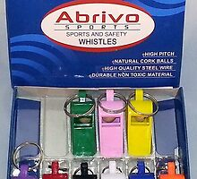 Sport and Safety Whistle by abrivosports