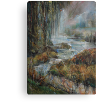 Along the River Canvas Print