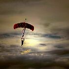 Evening Skydiver by Dyle Warren