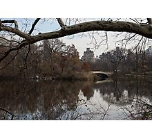 Bows and Arches - New York City Central Park Photographic Print