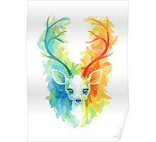 Feather Fawn Poster