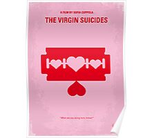 No297 My The Virgin Suicides minimal movie poster Poster