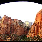 Framed View - Zion National Park - Utah by Honor Kyne
