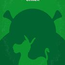 No280 My SHREK minimal movie poster by Chungkong