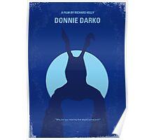 No295 My Donnie Darko minimal movie poster Poster