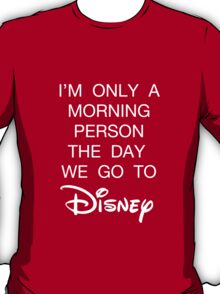 Disney Morning Person T-Shirt