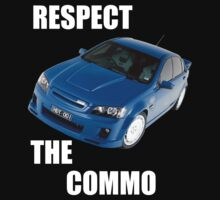 Respect the Commo by frangiosa