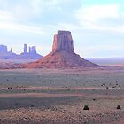 Monument Valley - At Dusk by Honor Kyne