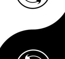 sharingan yin and yang Sticker