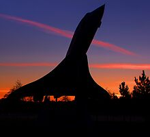 Concorde Sunrise 1 - Brooklands by Colin J Williams Photography