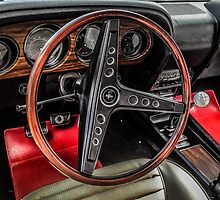1970 Ford Mustang Mach 1 interior by Chris L Smith