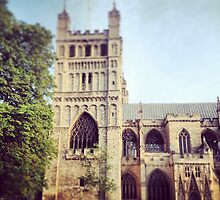 Exeter Cathedral  by Laura Jones