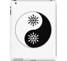 Weiss yin and yang the other yang iPad Case/Skin