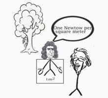Einstein, Newton and Pascal joke  by Raone10