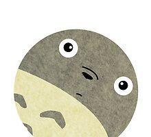 Felt Totoro by Isaac Simmons
