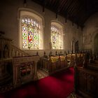 #HDR Photograph of the soft light in st mary's church, brome, suffolk by ArthakkerHDR