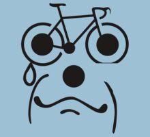 Sad Bike Flat Tire by SportsT-Shirts
