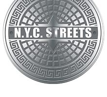 Manhole Covers NYC by Traci VanWagoner
