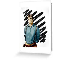 Malcolm Reynolds aka Mal aka… Nathan Fillion Greeting Card