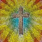Cool Colorful Cross by morningdance