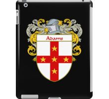 Adams Coat of Arms/Family Crest iPad Case/Skin