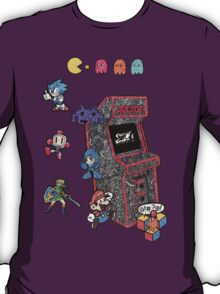 Arcade Game Booth /without background T-Shirt
