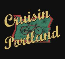 Bike Cycling Bicycle Portland Oregon by SportsT-Shirts