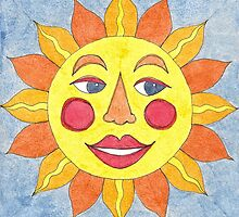 MEXICALI SUN HAPPY by dkatiepowellart