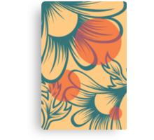 Flora//Three Canvas Print