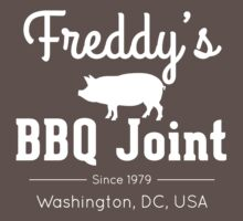 Freddy's BBQ Joint (White) by Anderson James