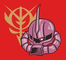 Zaku II -The Red Comet by armoredfoe