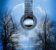 guitar nature  by motiashkar