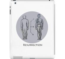 Resurrection- plan of salvation  iPad Case/Skin