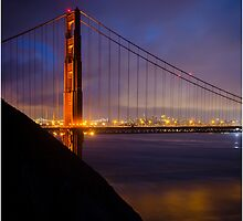 Golden Gate-San Francisco by Fidisoa Rasambainarivo