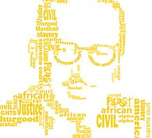 Thurgood Marshall by mbstudios
