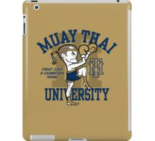 MUAY THAI UNIVERSITY iPad Case/Skin