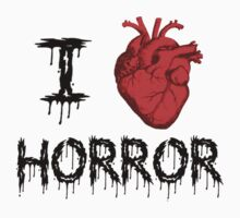 I Heart Horror by poorlydesigns