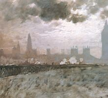 Study of Westminster Bridge by Bridgeman Art Library