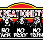 Creationists - Blind, Deaf, and Dumb! by atheistcards