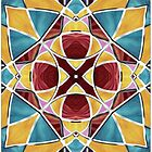 Stained Glass Window 5 by MSRowe Art and Design