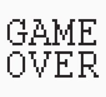 GAME OVER by YabuloStore919
