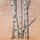 Aspen Trees (sold) by donea